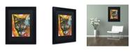 """Trademark Global Dean Russo 'Intent' Matted Framed Art - 11"""" x 14"""" x 0.5"""""""