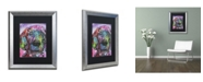 "Trademark Global Dean Russo 'Purple Excitement' Matted Framed Art - 20"" x 16"" x 0.5"""
