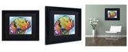 """Trademark Global Dean Russo '24' Matted Framed Art - 11"""" x 14"""" x 0.5"""""""