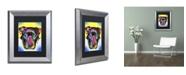 "Trademark Global Dean Russo 'Otter Pitbull' Matted Framed Art - 14"" x 11"" x 0.5"""