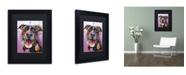 "Trademark Global Dean Russo 'Ms Understood' Matted Framed Art - 11"" x 14"" x 0.5"""