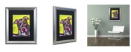 "Trademark Global Dean Russo 'Brindle' Matted Framed Art - 20"" x 16"" x 0.5"""