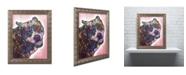 """Trademark Global Dean Russo 'Indelible' Ornate Framed Art - 14"""" x 11"""" x 0.5"""""""