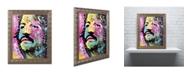 """Trademark Global Dean Russo 'Ringo Starr' Ornate Framed Art - 14"""" x 11"""" x 0.5"""""""