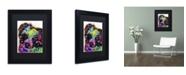 """Trademark Global Dean Russo 'Aussie' Matted Framed Art - 11"""" x 14"""" x 0.5"""""""