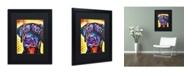 "Trademark Global Dean Russo 'Dobie' Matted Framed Art - 16"" x 20"" x 0.5"""