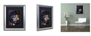 "Trademark Global Dean Russo 'Jimi' Matted Framed Art - 20"" x 16"" x 0.5"""