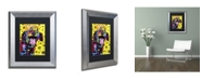 "Trademark Global Dean Russo 'Sparkles' Matted Framed Art - 14"" x 11"" x 0.5"""