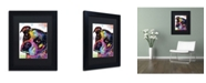 """Trademark Global Dean Russo 'Young Boxer' Matted Framed Art - 11"""" x 14"""" x 0.5"""""""