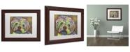 "Trademark Global Dean Russo 'Amy' Matted Framed Art - 14"" x 11"" x 0.5"""