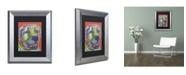 """Trademark Global Dean Russo 'Zeus' Matted Framed Art - 14"""" x 11"""" x 0.5"""""""