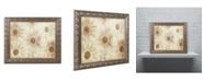 "Trademark Global Cora Niele 'Vintage Daisies' Ornate Framed Art - 20"" x 16"" x 0.5"""