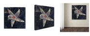 "Trademark Global Color Bakery 'Maritime Blues IV' Canvas Art - 18"" x 2"" x 18"""