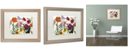 "Trademark Global Color Bakery 'Printemps I' Matted Framed Art - 20"" x 0.5"" x 16"""