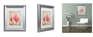"Trademark Global Color Bakery 'Saisons III' Matted Framed Art - 11"" x 0.5"" x 14"""