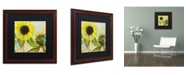 "Trademark Global Color Bakery 'Soleil I' Matted Framed Art - 16"" x 0.5"" x 16"""