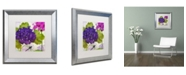 """Trademark Global Color Bakery 'Gaia I' Matted Framed Art - 16"""" x 0.5"""" x 16"""""""