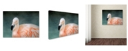 "Trademark Global Jai Johnson 'Pink flamingo 3' Canvas Art - 32"" x 24"" x 2"""