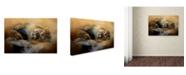 "Trademark Global Jai Johnson 'Lion Love 2' Canvas Art - 24"" x 16"" x 2"""