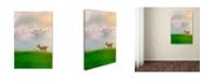 "Trademark Global Jai Johnson 'Racing Wings' Canvas Art - 24"" x 16"" x 2"""