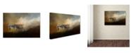 "Trademark Global Jai Johnson 'Going Home At Sunset' Canvas Art - 19"" x 12"" x 2"""