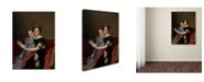 "Trademark Global David 'The Sisters Zenaide And Charlotte Bonaparte' Canvas Art - 24"" x 18"" x 2"""