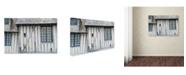 "Trademark Global Cora Niele 'Timber Framed House' Canvas Art - 19"" x 12"" x 2"""