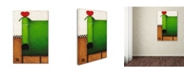 "Trademark Global Daniel Patrick Kessler 'Love Dog' Canvas Art - 47"" x 30"" x 2"""