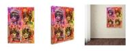 "Trademark Global Dean Russo 'Tina' Canvas Art - 24"" x 18"" x 2"""