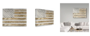 "Trademark Global Color Bakery 'Dawns Early Light II' Canvas Art - 47"" x 35"" x 2"""