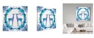 "Trademark Global Irina Trzaskos Studio 'Winter Tales Deer' Canvas Art - 18"" x 18"" x 2"""
