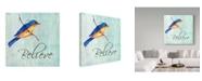 "Trademark Global Irina Trzaskos Studio 'Bird Inspiration III' Canvas Art - 35"" x 35"" x 2"""