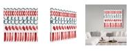 "Trademark Global Irina Trzaskos Studio 'Abstract pattern 1' Canvas Art - 18"" x 18"" x 2"""