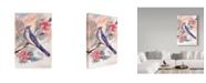 "Trademark Global Irina Trzaskos Studio 'Watercolor Bird' Canvas Art - 19"" x 12"" x 2"""