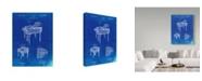"Trademark Global Cole Borders 'Piano' Canvas Art - 32"" x 24"" x 2"""