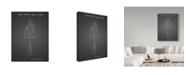 "Trademark Innovations Cole Borders 'Hand Bag' Canvas Art - 19"" x 14"" x 2"""