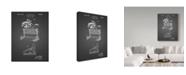 "Trademark Innovations Cole Borders 'Horse Racing' Canvas Art - 19"" x 14"" x 2"""