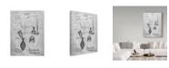 "Trademark Innovations Cole Borders 'Cow Milker' Canvas Art - 32"" x 24"" x 2"""