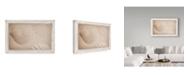 "Trademark Global Cora Niele 'White Shells And Sand' Canvas Art - 24"" x 16"" x 2"""