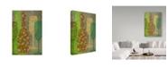 """Trademark Global Cora Niele 'Art Of Wine - Champagne' Canvas Art - 19"""" x 12"""" x 2"""""""