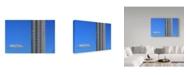 """Trademark Global Jacqueline Van Bijnen 'Endless Buildings' Canvas Art - 19"""" x 2"""" x 12"""""""