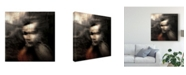 "Trademark Global Dalibor Davidovic 'Shadow Portraits' Canvas Art - 18"" x 2"" x 18"""