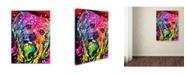 "Trademark Global Dean Russo 'Yorkie' Canvas Art - 18"" x 24"" x 2"""