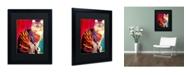 """Trademark Global DawgArt 'Guilley Cabil' Matted Framed Art - 20"""" x 16"""" x 0.5"""""""