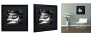 """Trademark Global Dave MacVicar 'Cascade' Matted Framed Art - 16"""" x 16"""" x 0.5"""""""