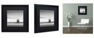 """Trademark Global Dave MacVicar 'Golden Gate' Matted Framed Art - 16"""" x 16"""" x 0.5"""""""
