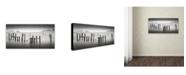 """Trademark Global Dave MacVicar 'Sausalito' Canvas Art - 10"""" x 19"""" x 2"""""""