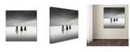 """Trademark Global Dave MacVicar 'Tres Hombres' Canvas Art - 35"""" x 35"""" x 2"""""""