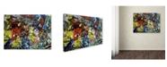 "Trademark Global Dan Monteavaro 'Popularity Everyone is Doing It' Canvas Art - 19"" x 14"" x 2"""