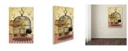 "Trademark Global J Hovenstine Studios 'Cat Series #4' Canvas Art - 47"" x 30"" x 2"""